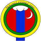 """A circle logo which reads """"Nokomis Learning Center"""" at the top"""